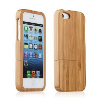 iPhone wood case, träskal