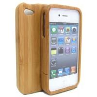 iPhone wood case, träskal