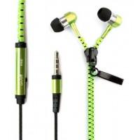 Zipper headphones - hörlurar med dragkedja